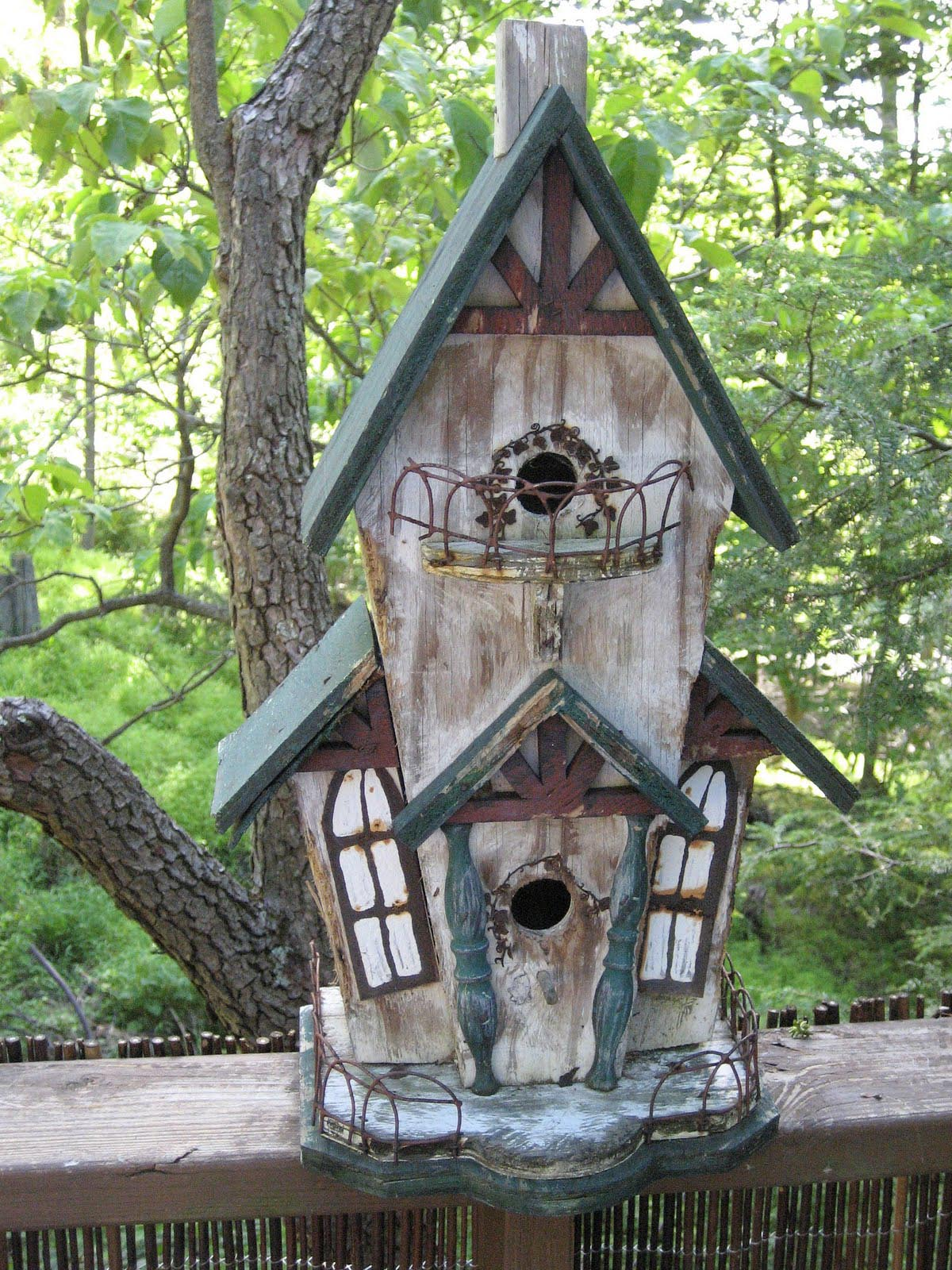 Unique Handmade Bird Houses