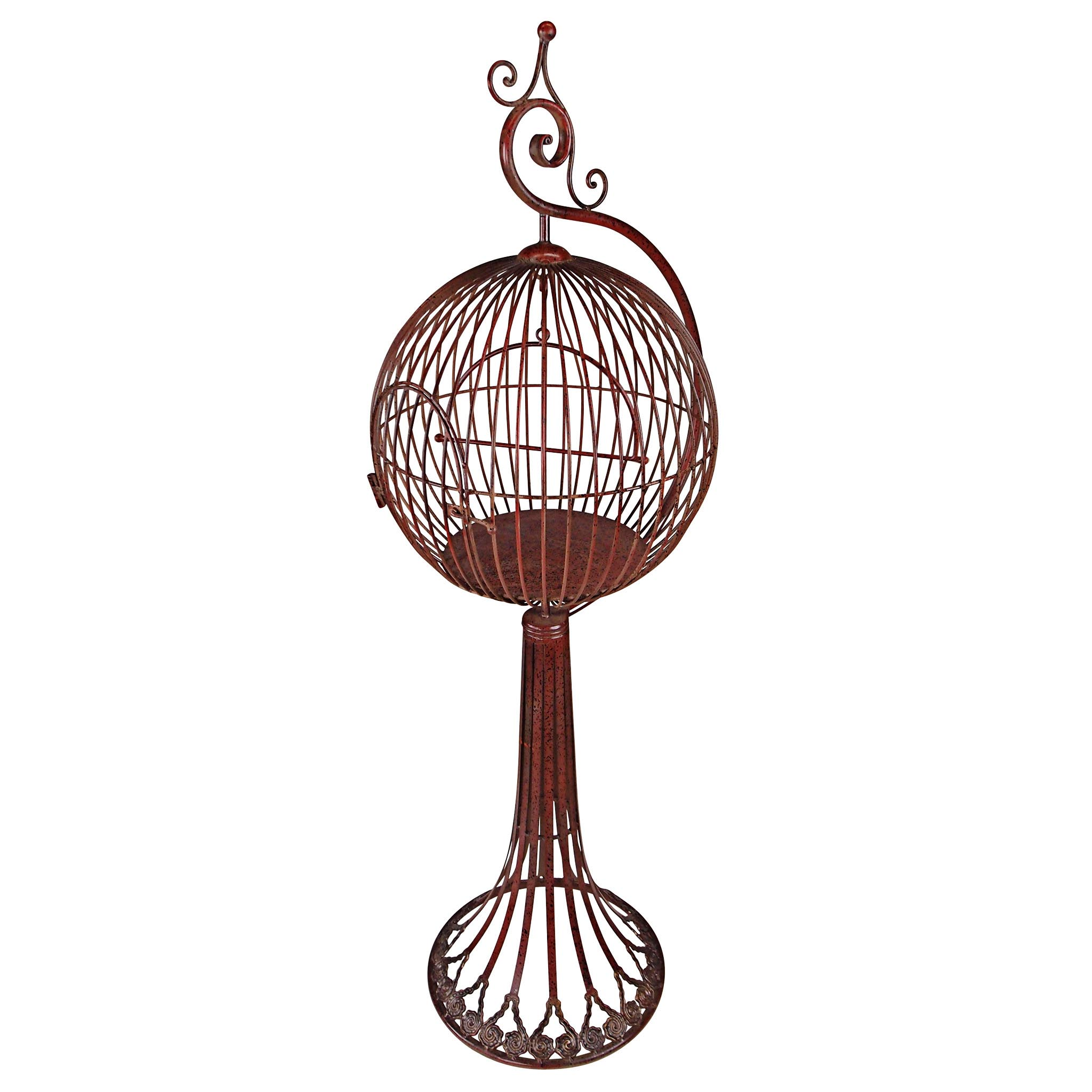Victorian Bird Cage with Stand