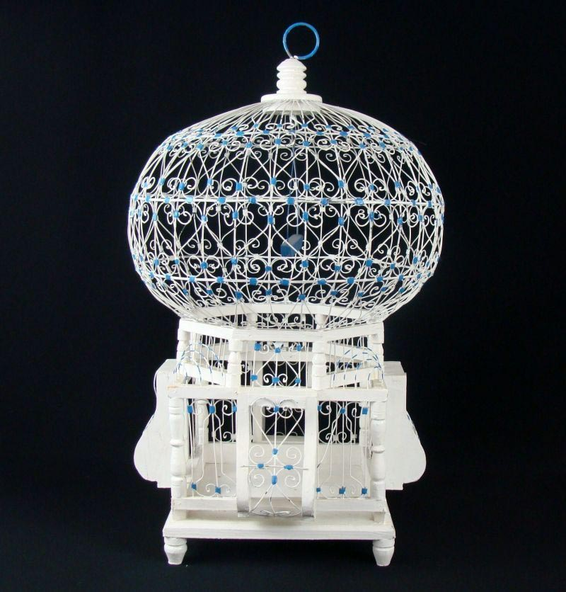 Victorian Bird Cages Hanging