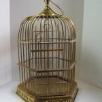 Victorian Brass Bird Cage