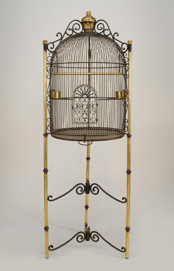 Victorian Cathedral Bird Cage
