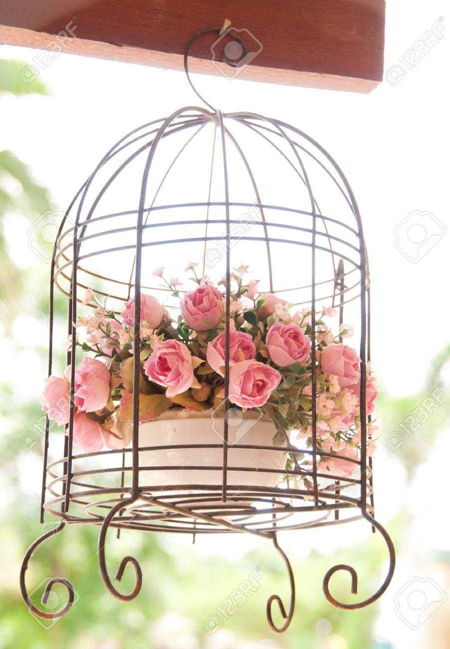 Vintage Decorative Bird Cages