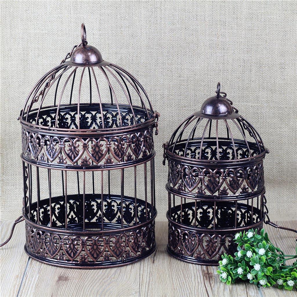Vintage Hanging Bird Cage
