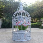 Vintage Metal Bird Cages