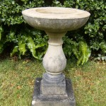 Vintage Stone Bird Baths
