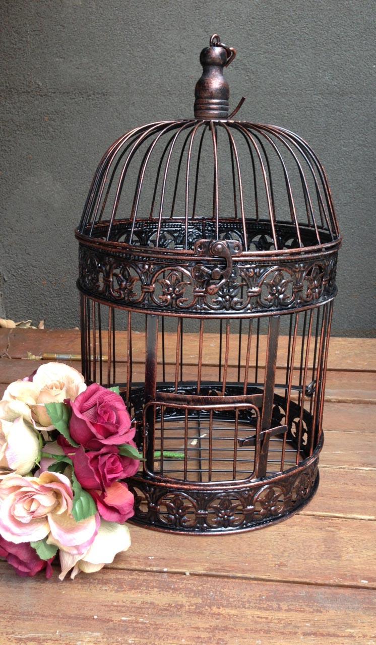Vintage Wire Bird Cage