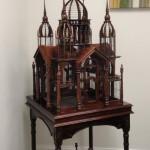 Vintage Wooden Bird Cages