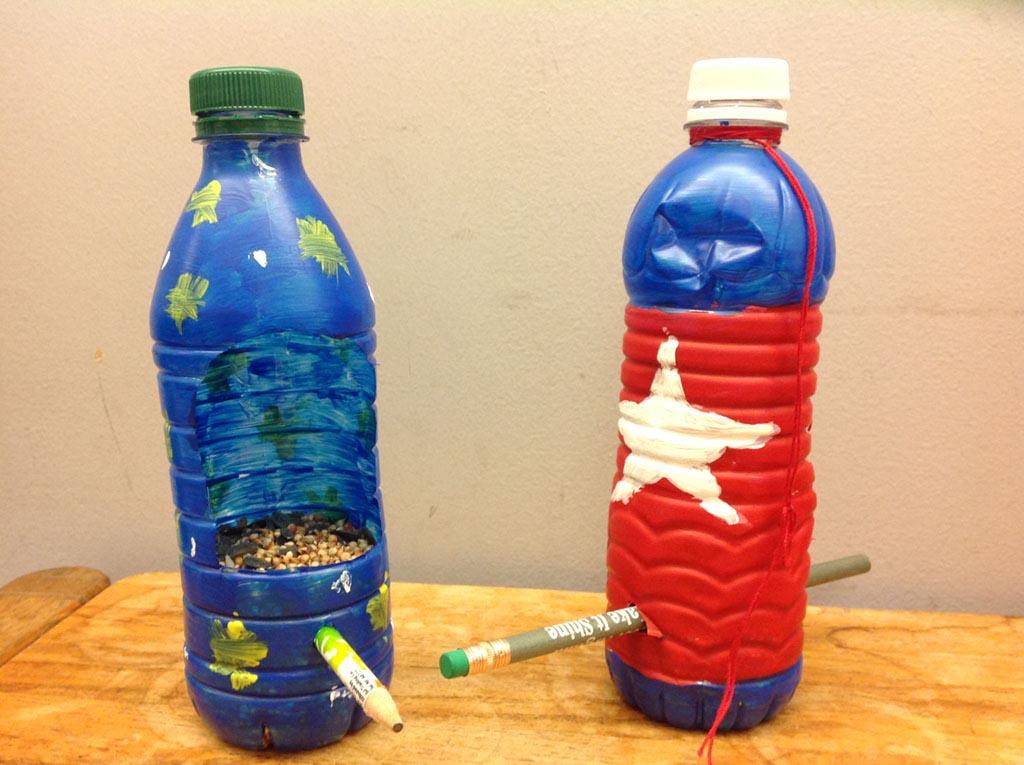 Water Feeder for Birds from Plastic Bottle