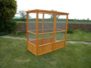 Wooden Aviary Bird Cage