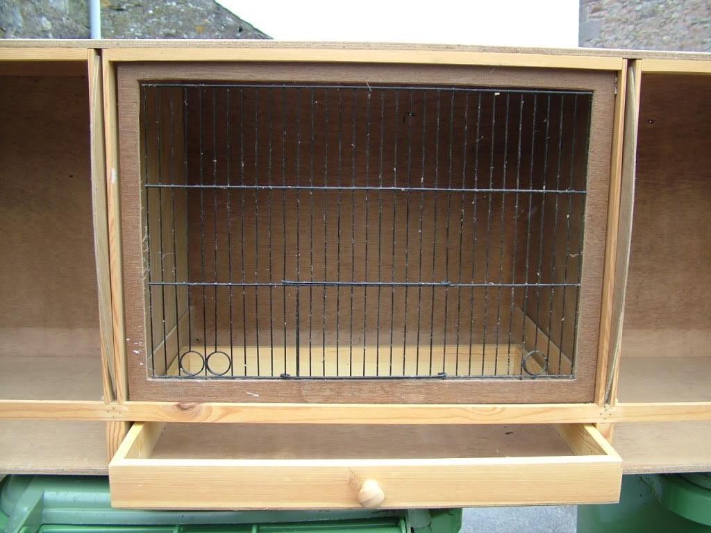 Wooden Bird Breeding Cages
