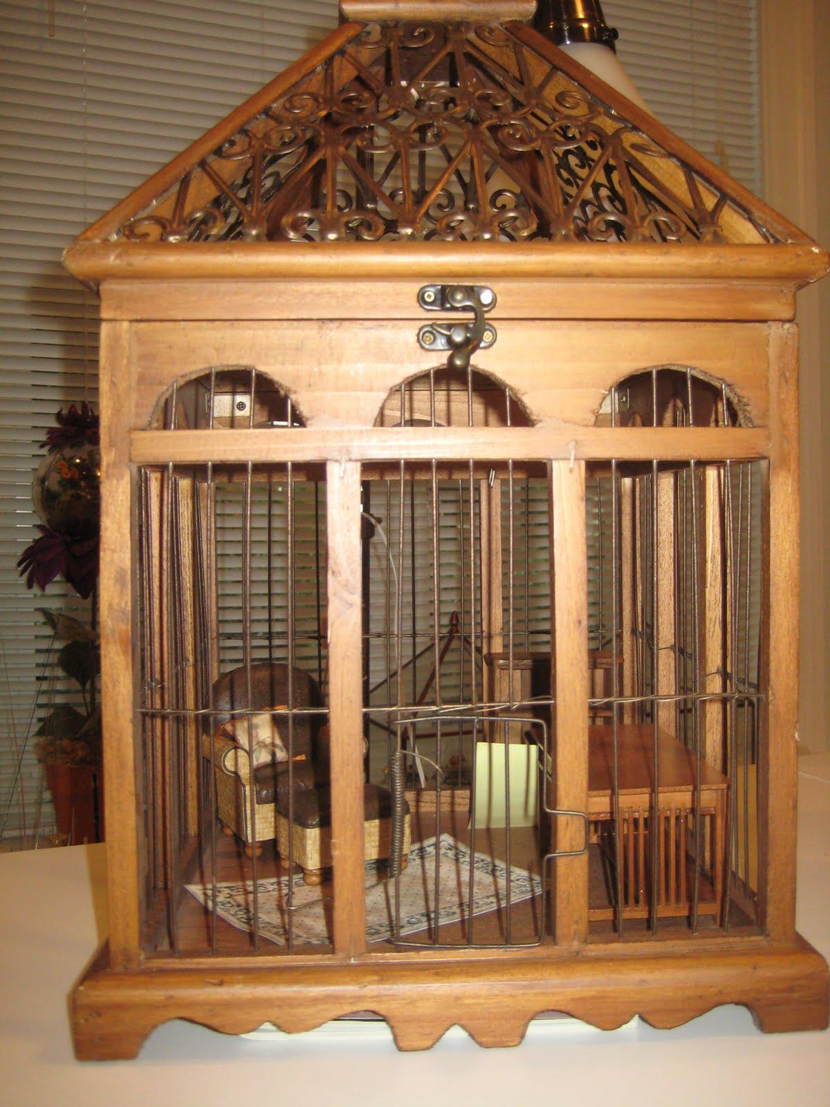 Wooden Bird Cage Kits