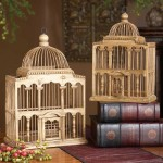 Wooden Bird Cages Decorative