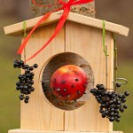 Wooden Bird Feeders DIY
