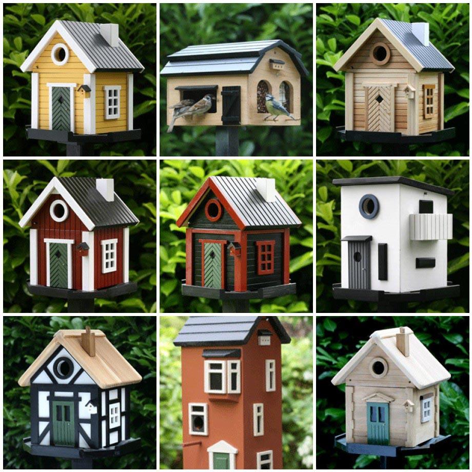 Wooden Bird House Patterns