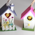 Wooden Craft Bird Houses