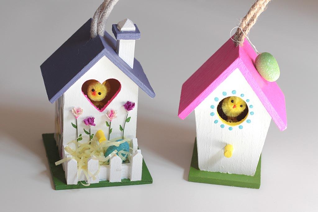 Wooden Craft Bird Houses
