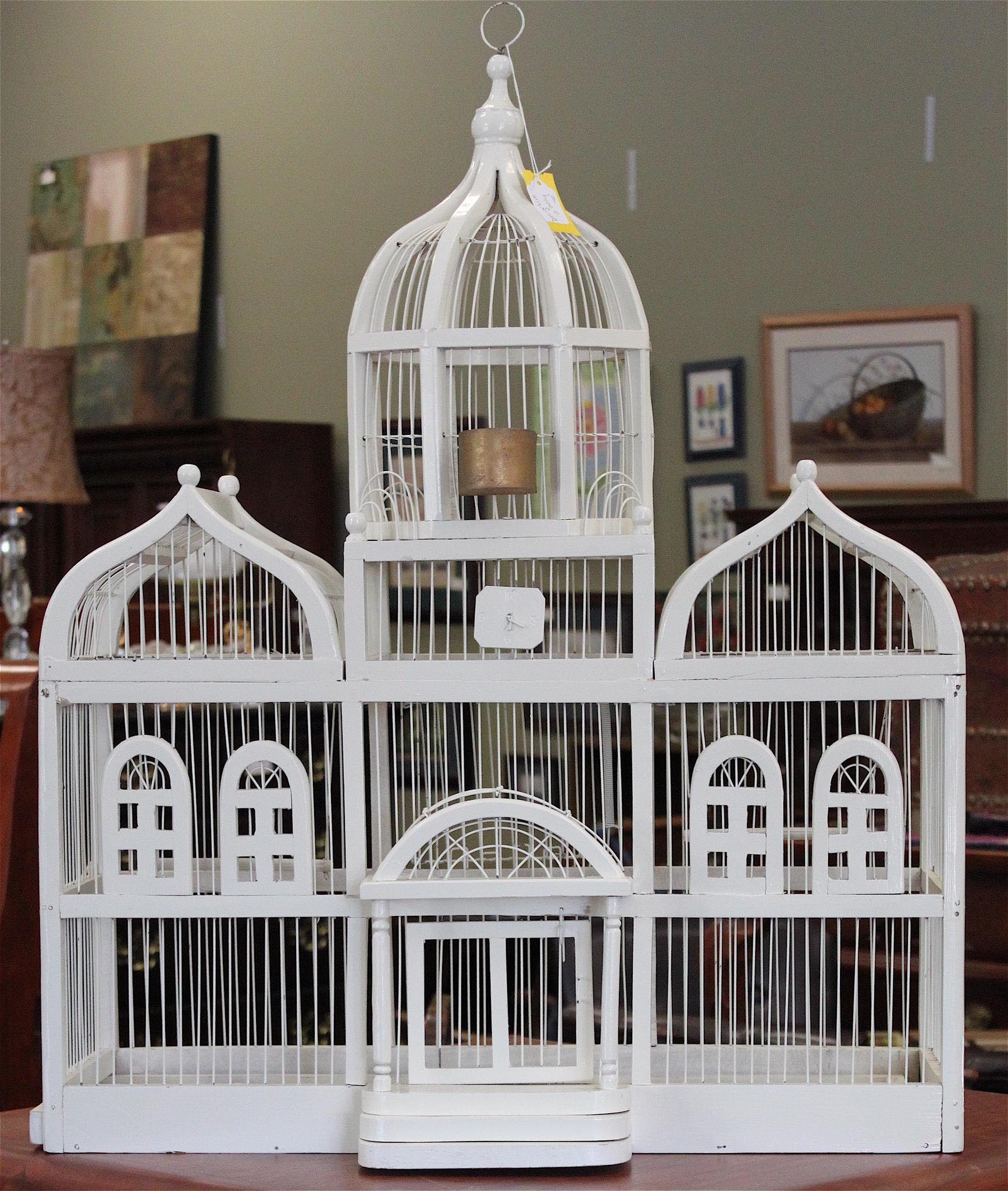 Wooden Decorative Bird Cages