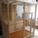 Wooden Homemade Bird Cages