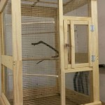 Wooden Indoor Bird Aviary