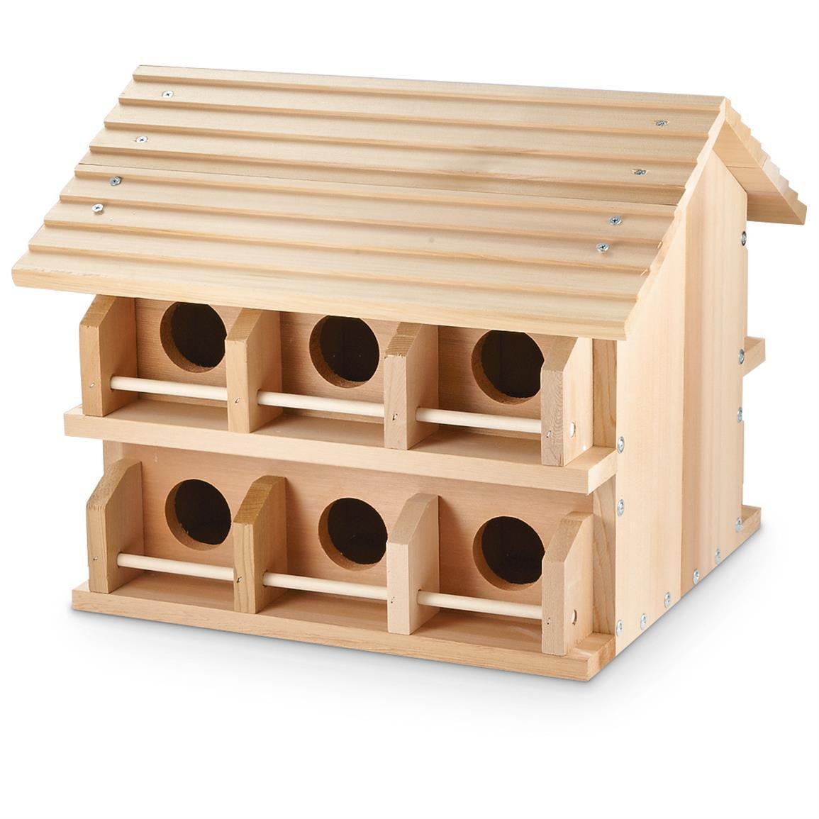 Wooden Martin Bird Houses