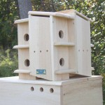 Wooden Martin Bird Houses