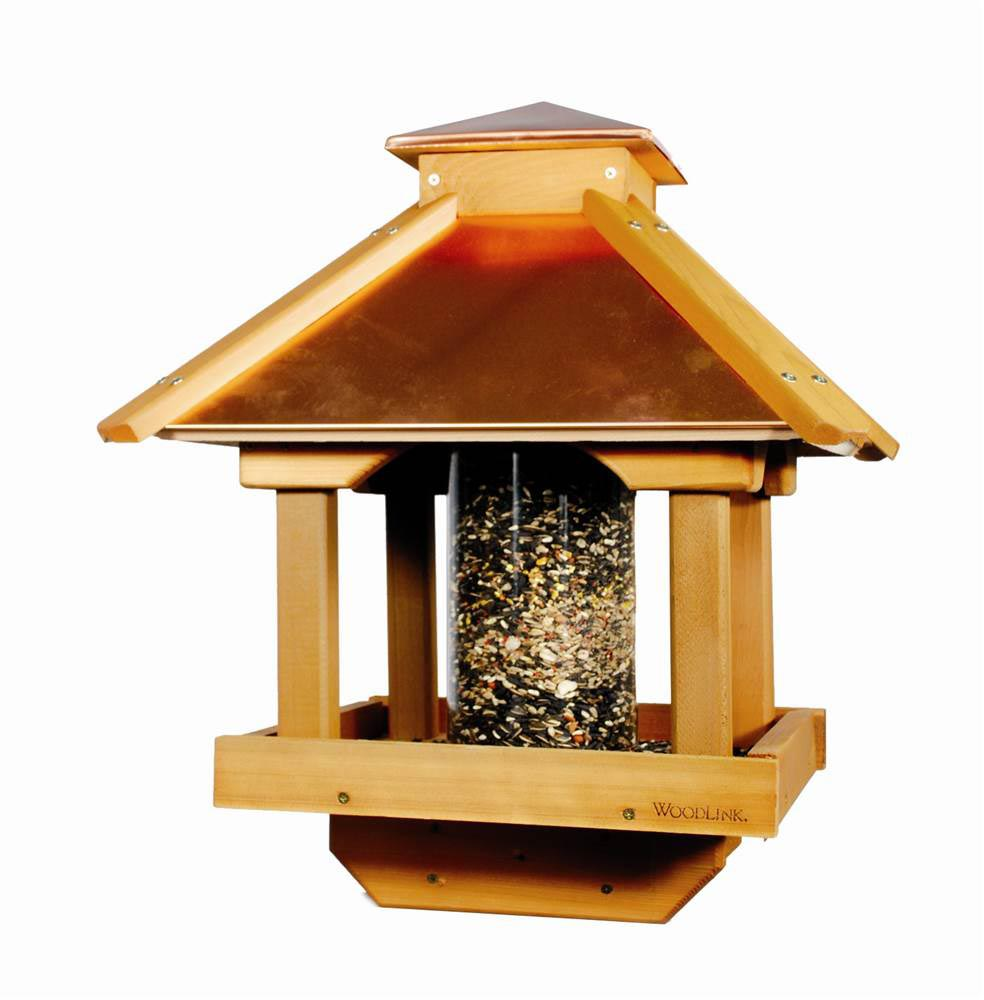 Woodlink Copper Top Bird Feeder