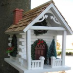 Bird House Christmas Decoration