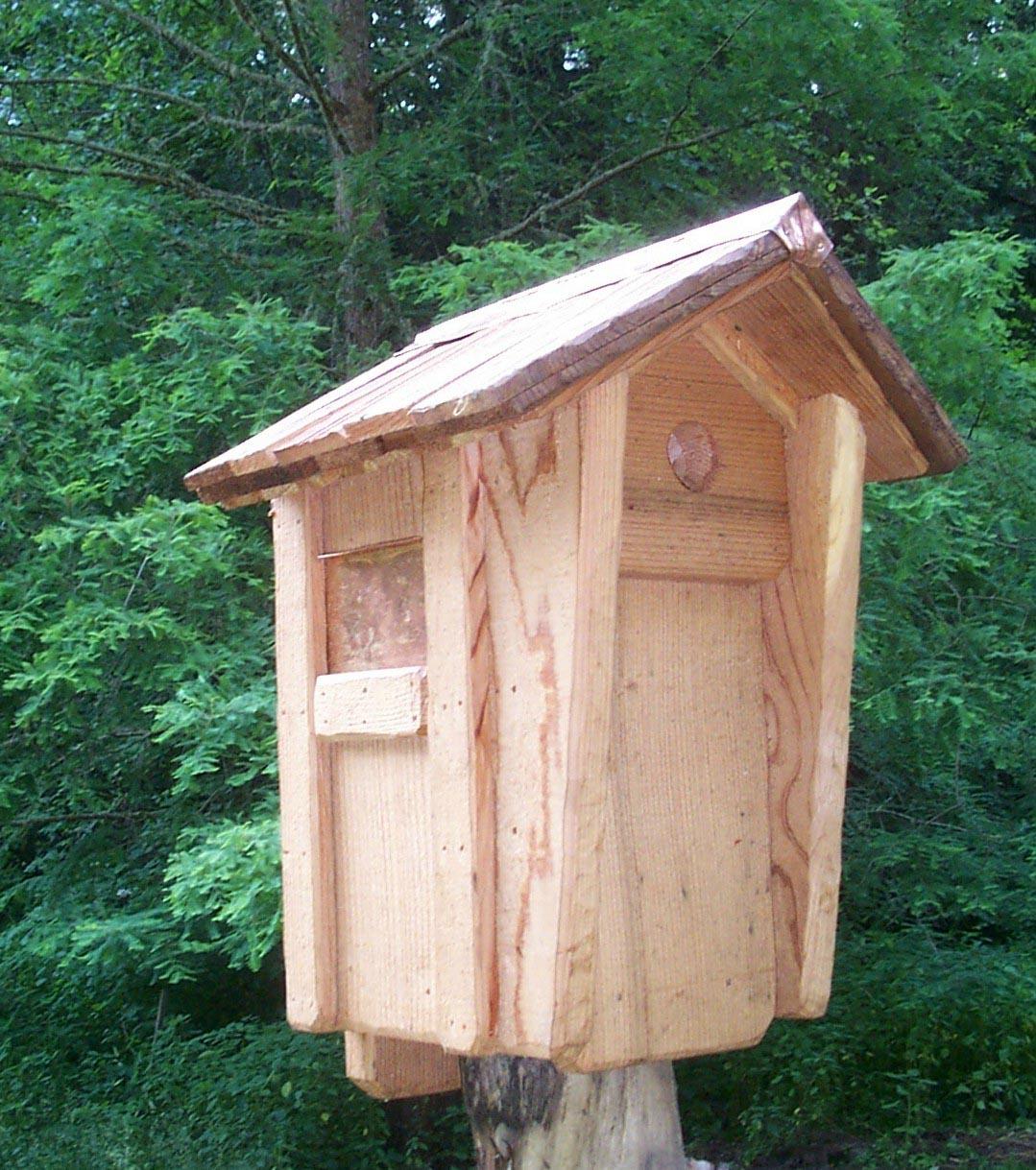 Bird House Plans for Chickadees