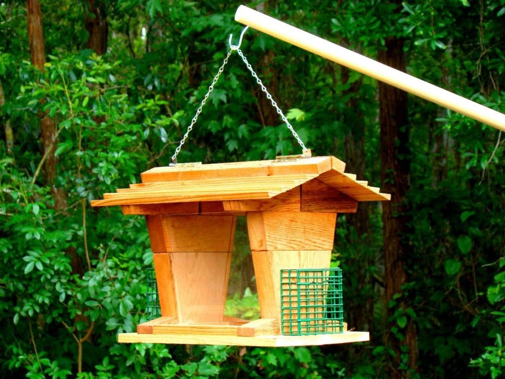 Bird House Pole Mount