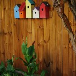 Bird Houses Garden Decor