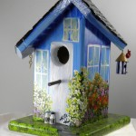Bird Houses Painting Ideas