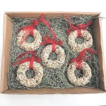 Bird Seed Christmas Wreath