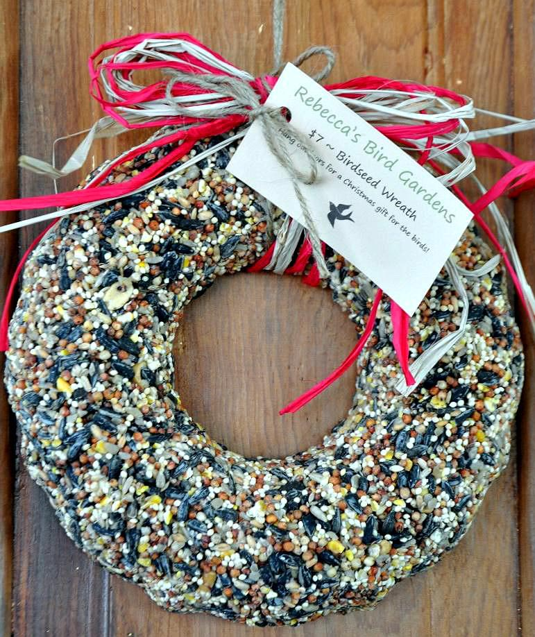 Bird Seed Wreath Recipe Without Gelatin