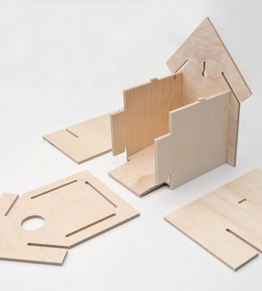Build Bird House Kits