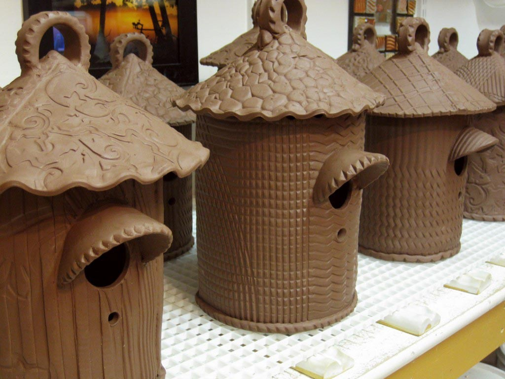 Ceramic Bird House Lesson Plan