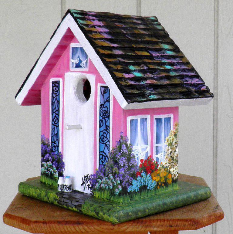 Decorating With Bird Houses Indoors Birdcage Design Ideas