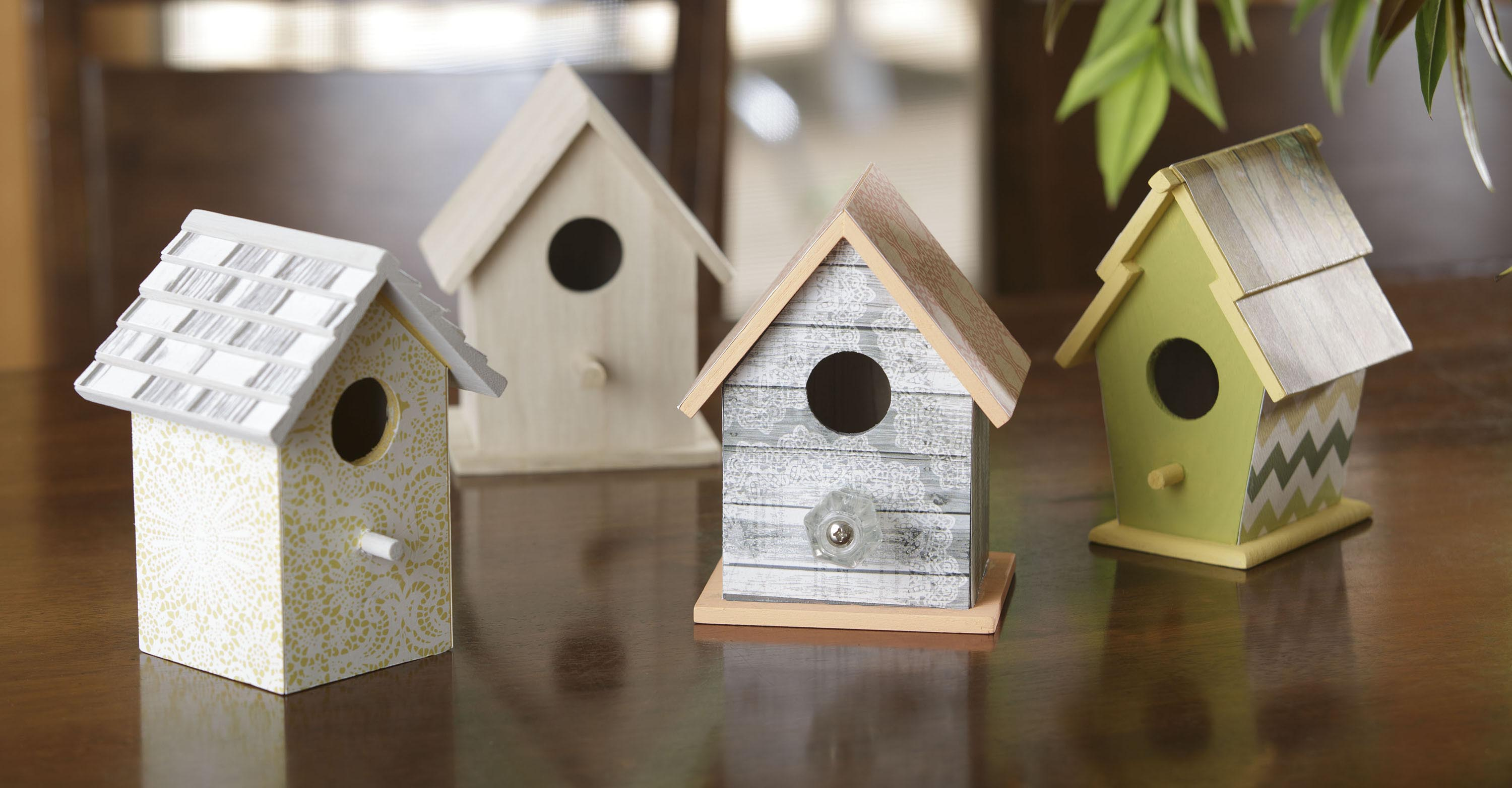 Decorative Bird House Kits Birdcage Design Ideas