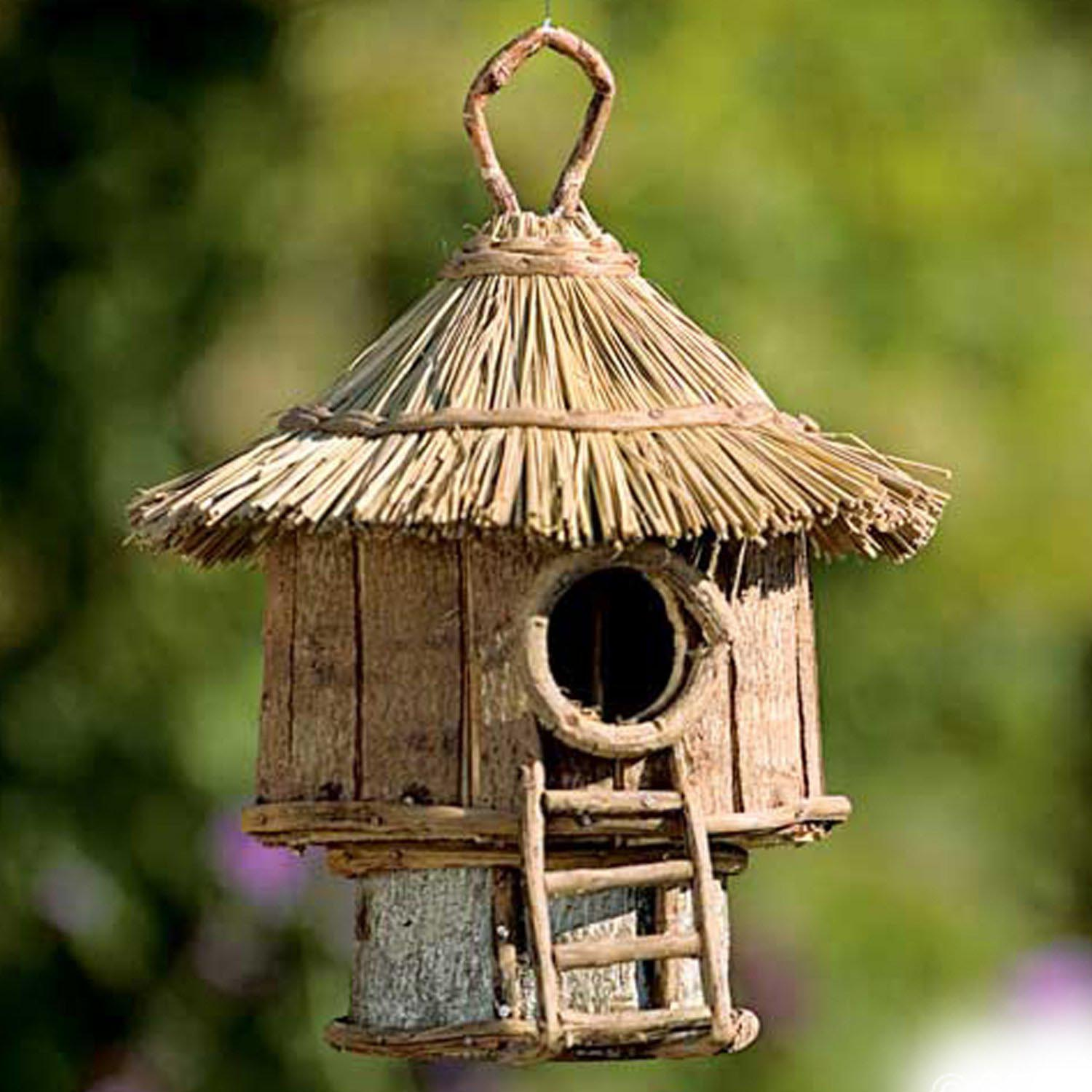 decorative bird houses are easy to handle birdcage