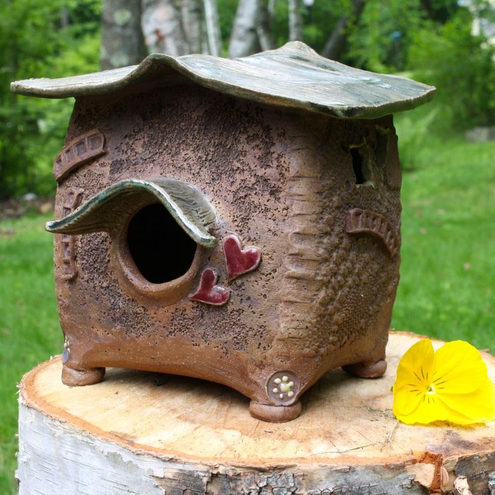 Decorative Ceramic Bird Houses