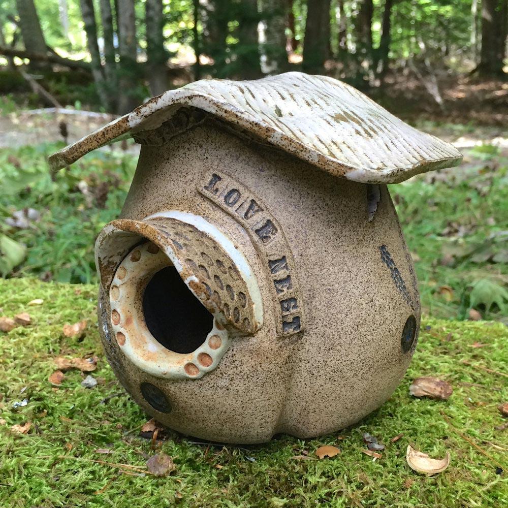 Decorative Ceramic Bird Houses