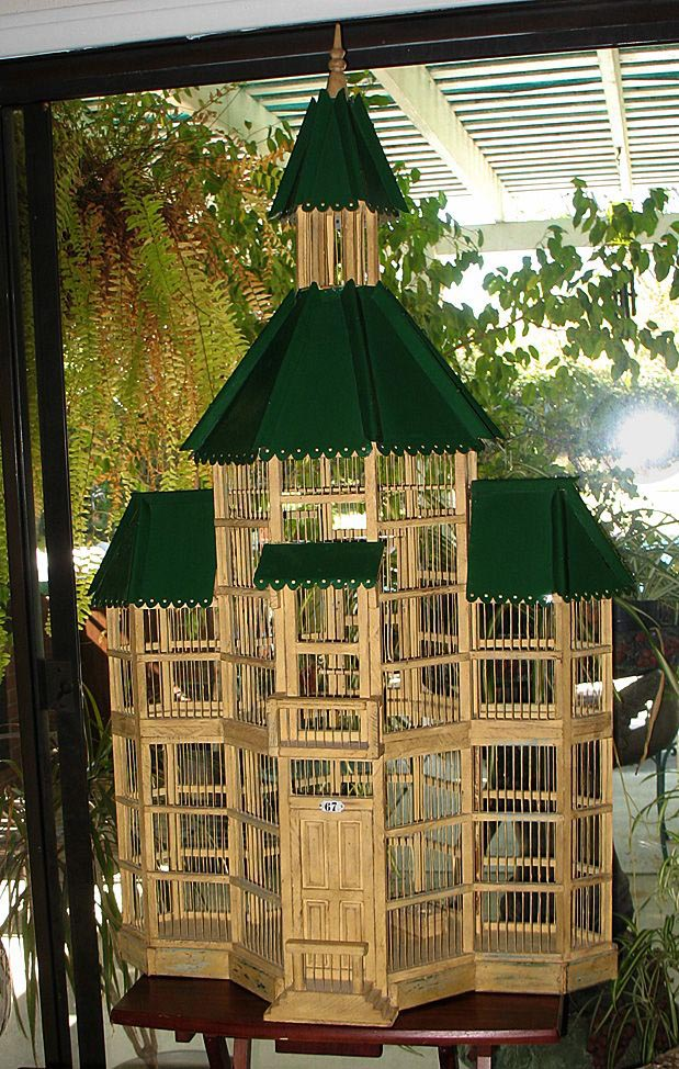 Decorative Wire Bird Houses