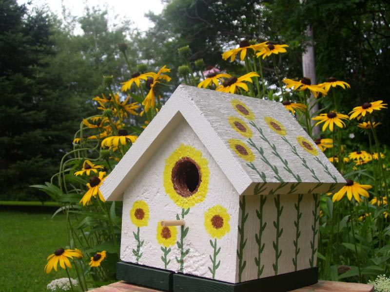 Decorative Wooden Bird Houses