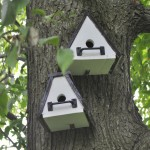 DIY Bird House Pole