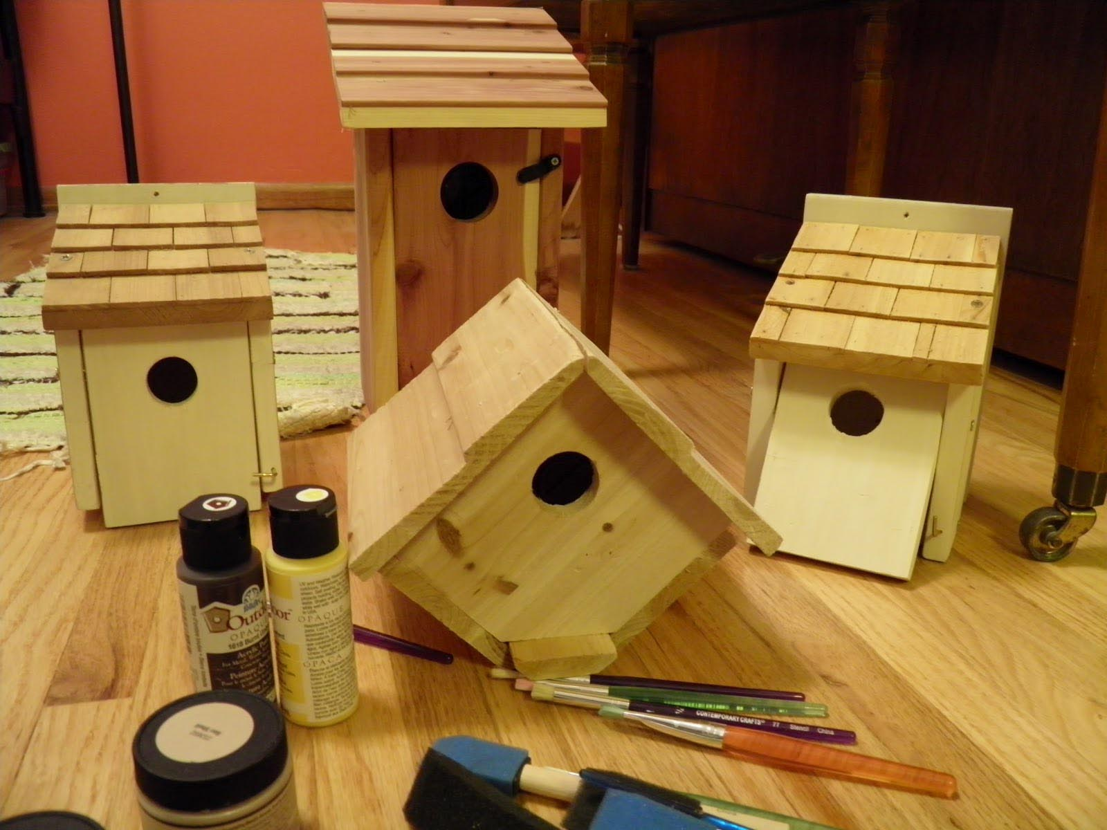 Finch Bird House Plans