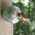Handmade Ceramic Bird Houses