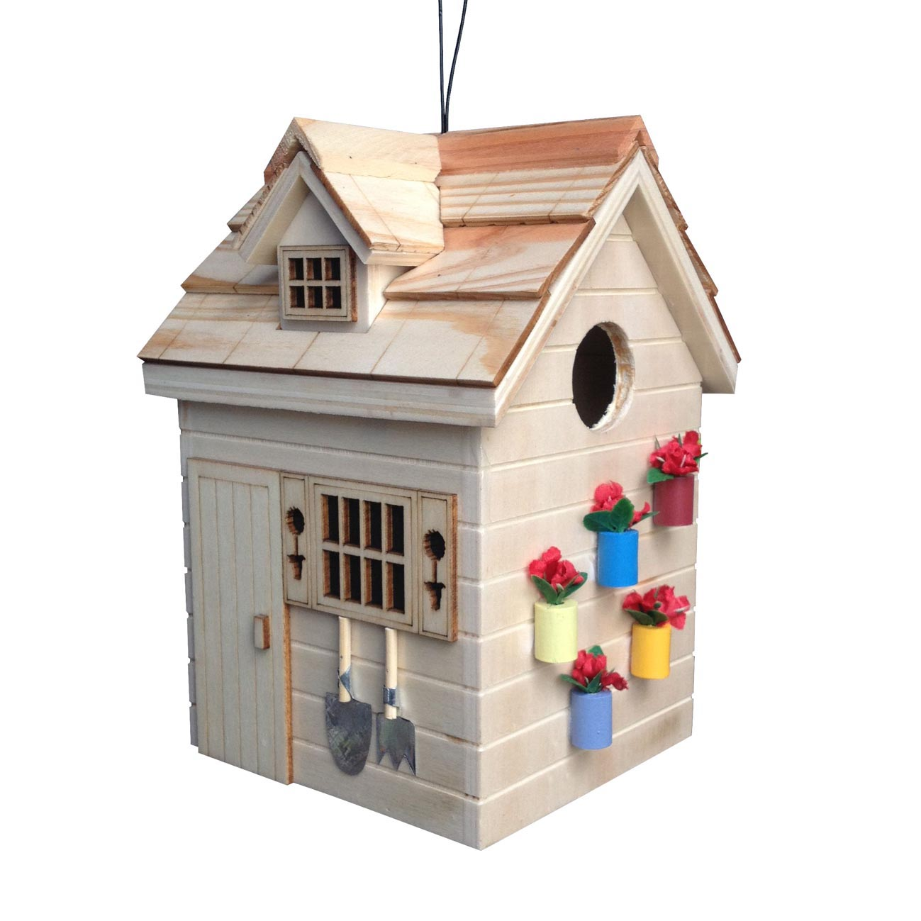 Heath Bird House Pole
