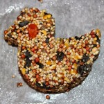 Molded Bird Seed Cakes