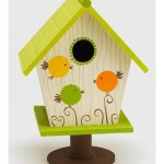Painted Bird Houses Designs