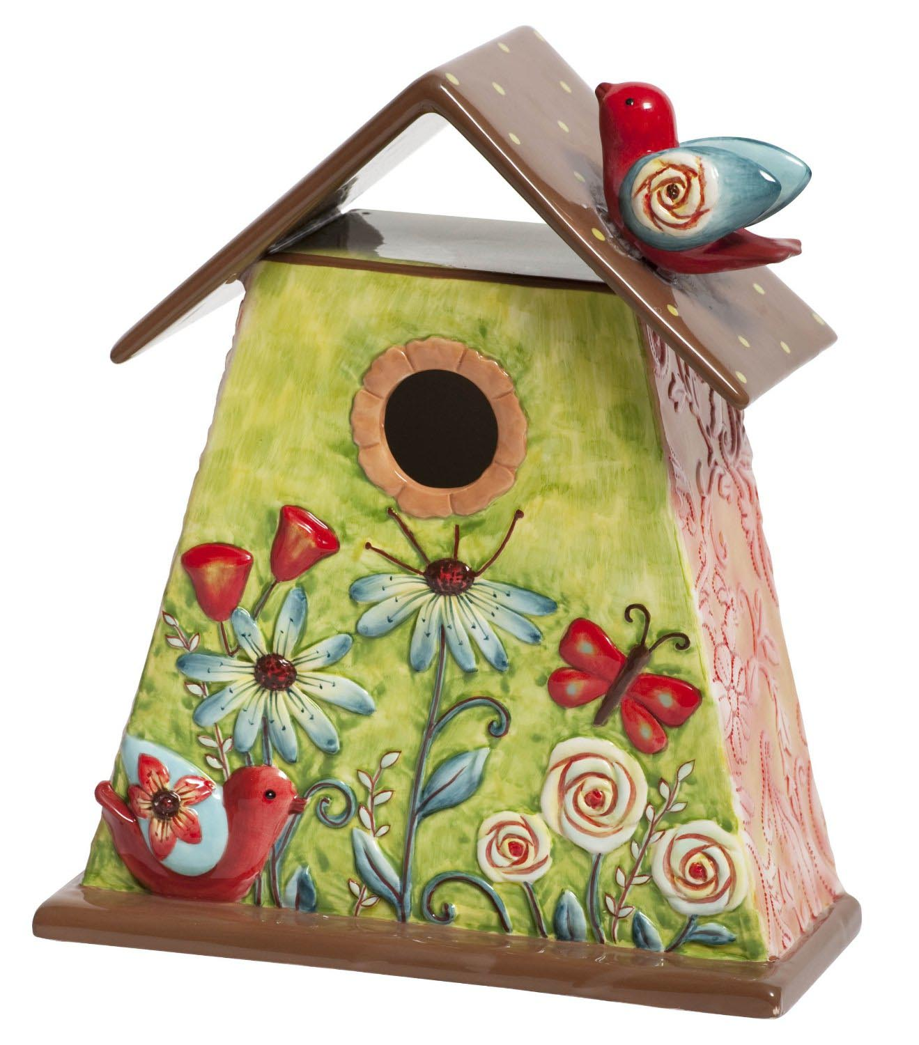 Paintings of Bird Houses