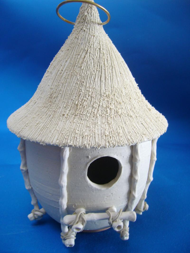 Ceramic Bird Houses Are Cool And Affordable Birdcage